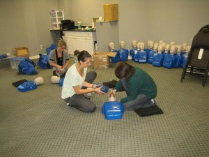 First Aid and CPR Training in Grande Prairie